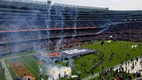 Soldier Field, section: 343, rangée: 9