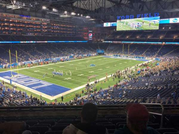Ford Field, section: 223, rangée: 8, siège: 20