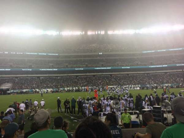 Lincoln Financial Field, section: 138, rangée: 5, siège: 16,17