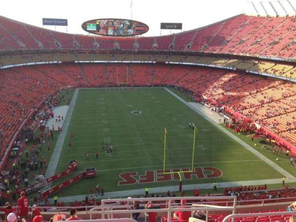 Arrowhead Stadium, section: 314, rangée: 14, siège: 1