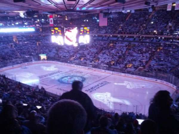 Madison Square Garden, section: 214, rangée: 16, siège: 16