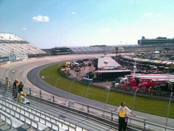 Dover International Speedway, section: 203, rangée: 9, siège: 9