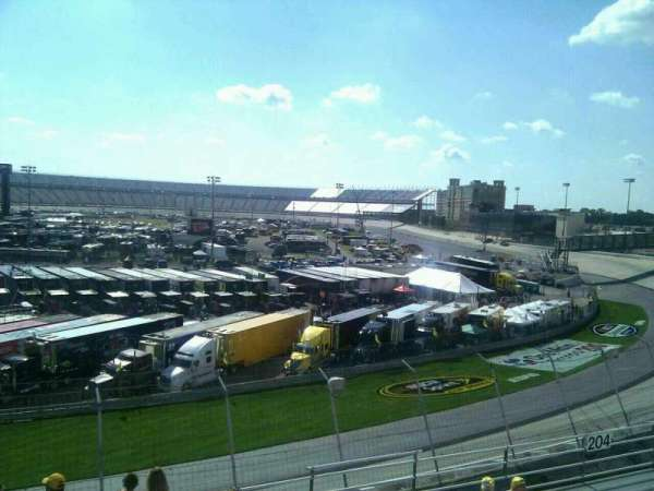 Dover International Speedway, section: 205, rangée: 9, siège: 9