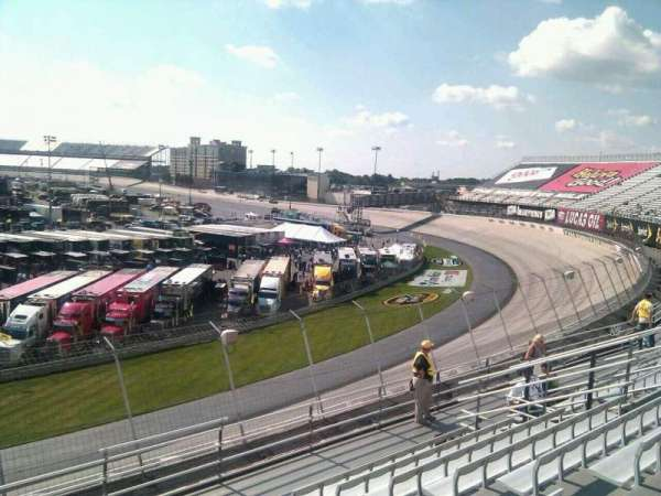 Dover International Speedway, section: 209, rangée: 9, siège: 9
