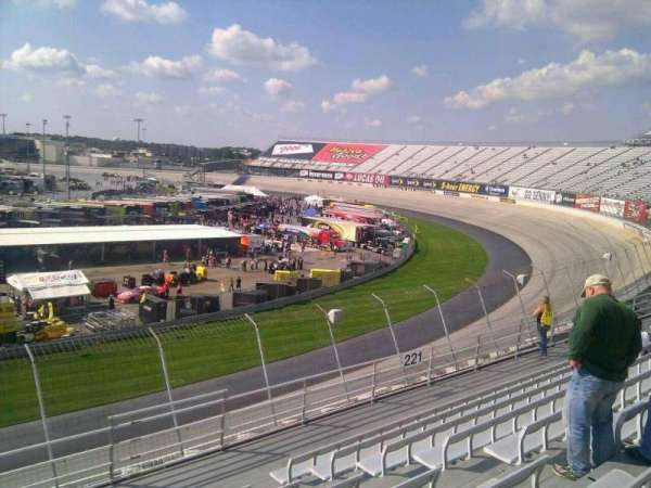 Dover International Speedway, section: 222, rangée: 9, siège: 9