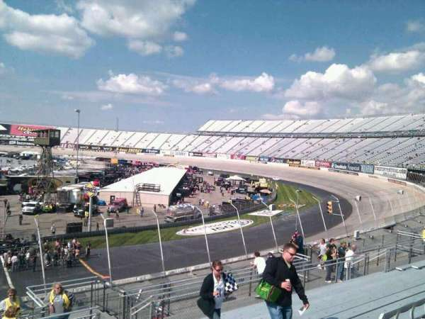 Dover International Speedway, section: 240, rangée: 30, siège: 9