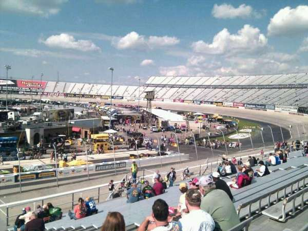 Dover International Speedway, section: 244, rangée: 30, siège: 9