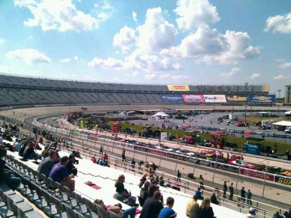Dover International Speedway, section: 103, rangée: 30, siège: 9