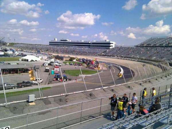 Dover International Speedway, section: 139, rangée: 14, siège: 9