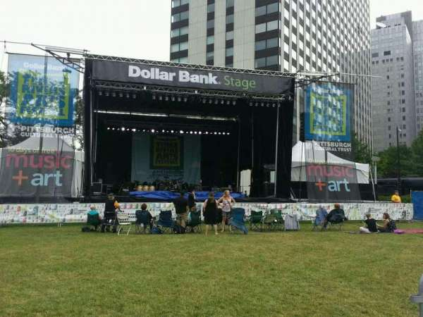 Dollar Bank Main Stage, section: ga
