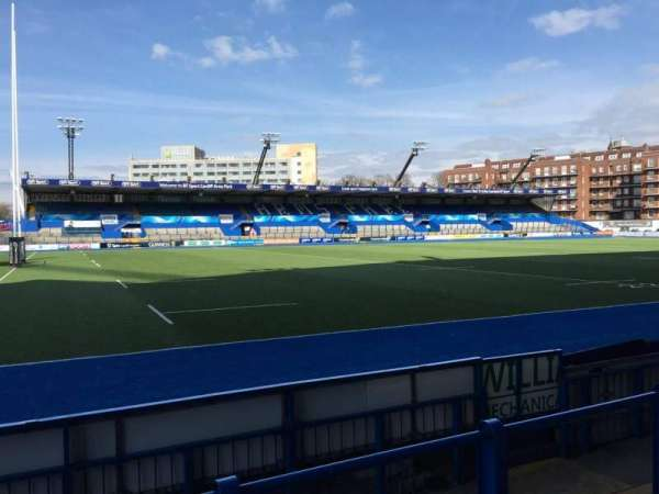 Cardiff Arms Park, section: Standing 5, rangée: 12