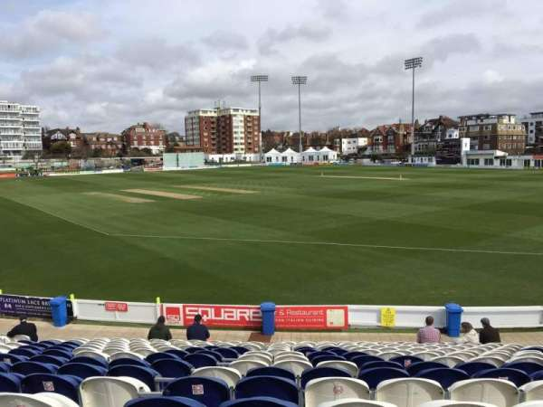 County Cricket Ground (Hove), section: C, rangée: Q, siège: 50