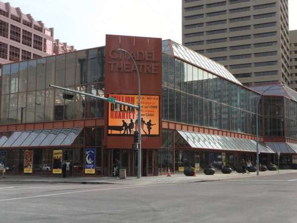 Citadel Theatre, section: Outside