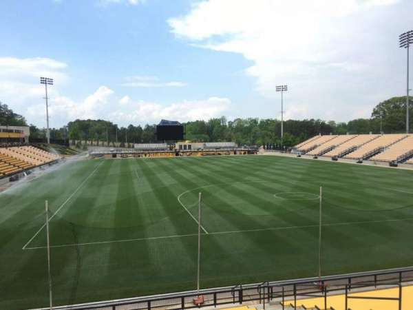 Fifth Third Bank Stadium, section: 114