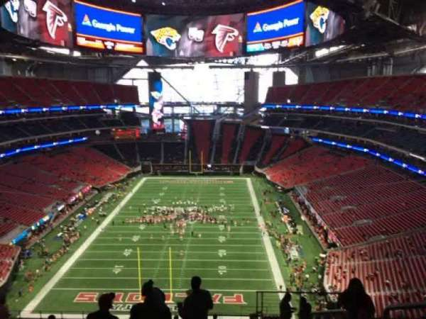 Mercedes-Benz Stadium, section: 325, rangée: 19, siège: 2