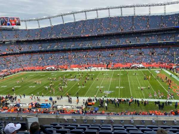 Empower Field at Mile High Stadium, section: 306, rangée: 9, siège: 7
