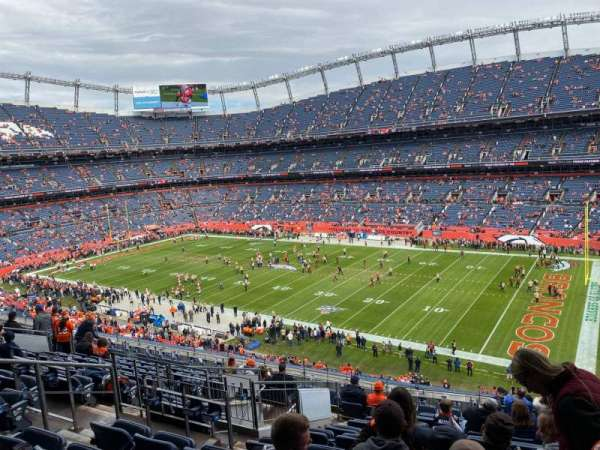 Empower Field at Mile High Stadium, section: 303, rangée: 15, siège: 11