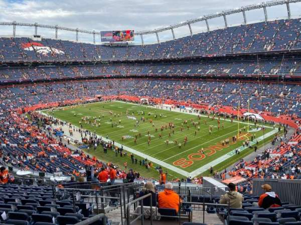 Empower Field at Mile High Stadium, section: 300, rangée: 16, siège: 8