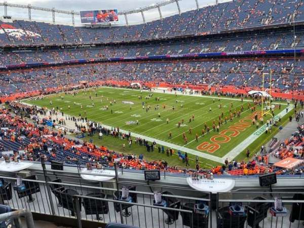 Empower Field at Mile High Stadium, section: 301, rangée: 7, siège: 18