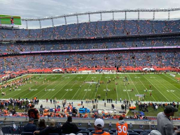 Empower Field at Mile High Stadium, section: 308, rangée: 9, siège: 5