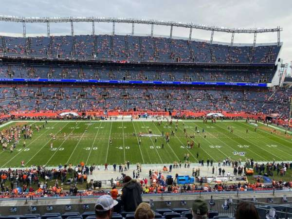 Empower Field at Mile High Stadium, section: 310, rangée: 9, siège: 9