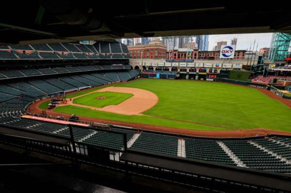 Minute Maid Park, section: STE 42