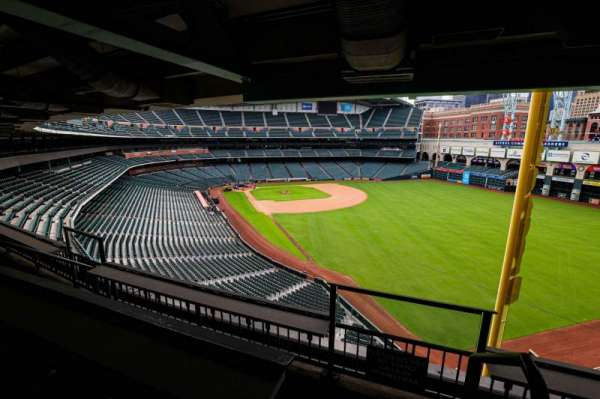 Minute Maid Park, section: STE 54