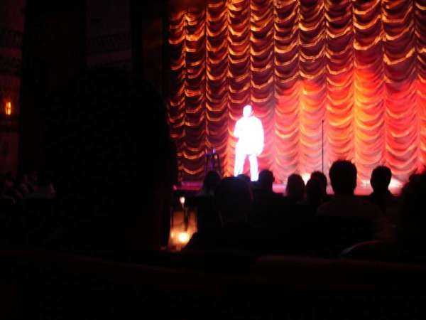 The Cabaret Theatre at Mohegan Sun, section: 116