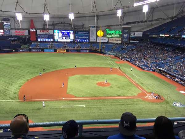 Tropicana Field, section: 311, rangée: C, siège: 16