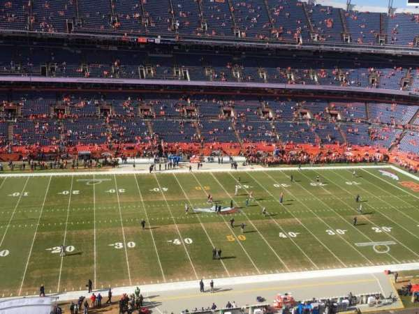 Empower Field at Mile High Stadium, section: 536, rangée: 6, siège: 14