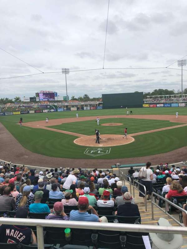 Hammond Stadium at CenturyLink Sports Complex, section: 210