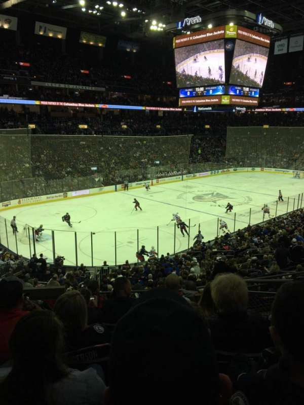 Nationwide Arena, section: 117, rangée: GG, siège: 4