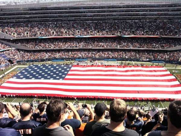 Soldier Field, section: 436, rangée: 31