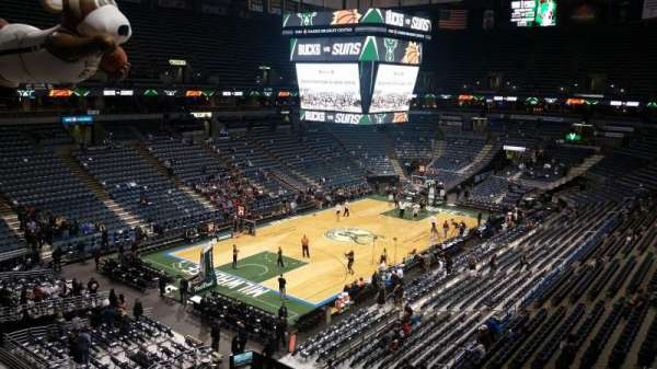 BMO Harris Bradley Center, section: 406, rangée: C, siège: 6