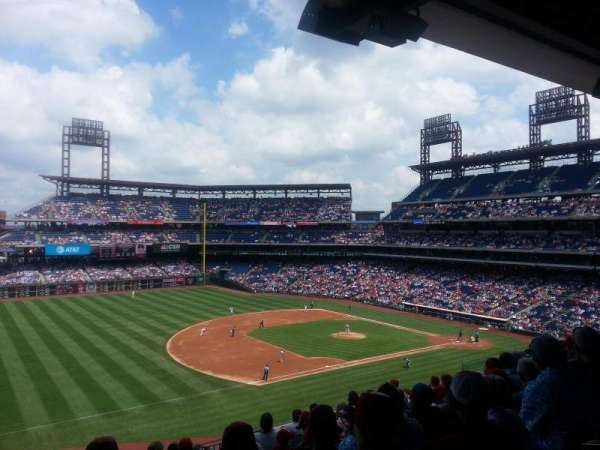 Citizens Bank Park, section: 232, rangée: 9, siège: 20