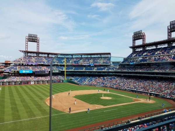 Citizens Bank Park, section: 232, rangée: 1, siège: 1