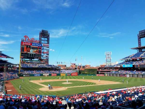 Citizens Bank Park, section: 122, rangée: 27, siège: 3