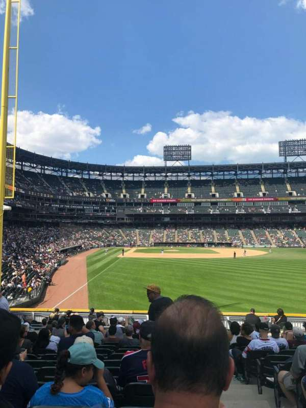 Guaranteed Rate Field, section: 105