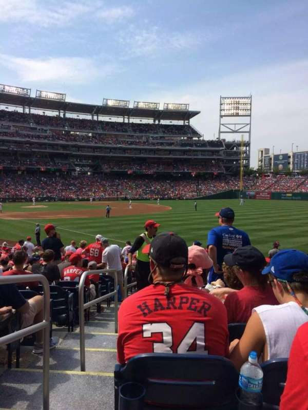 Nationals Park, section: 136