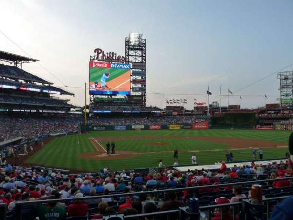 Citizens Bank Park, section: 120, rangée: 22, siège: 11
