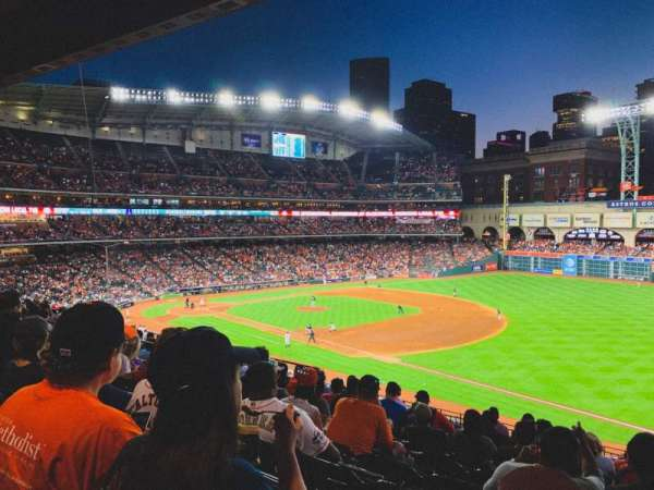 Minute Maid Park, section: 230, rangée: 10, siège: 14