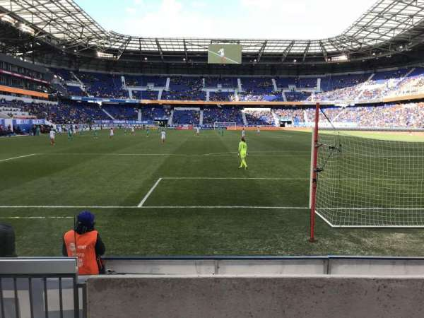 Red Bull Arena (New Jersey), section: 101, rangée: 3, siège: 30