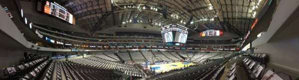 American Airlines Center, section: 109, rangée: X, siège: 14