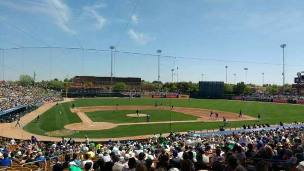 Camelback Ranch, section: 112, rangée: wch