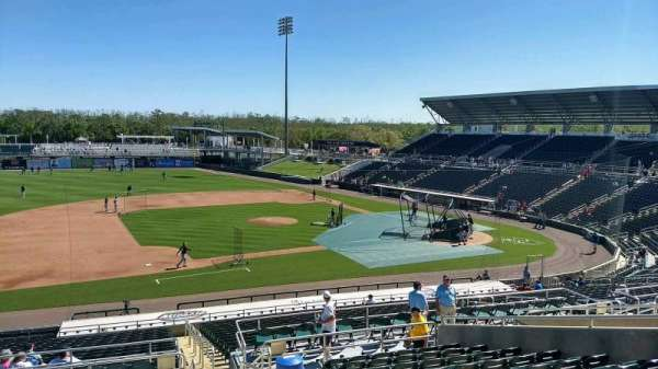 Hammond Stadium at CenturyLink Sports Complex, section: 216, rangée: 12, siège: 2