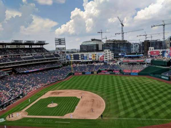 Nationals Park, section: 420, rangée: A, siège: 12