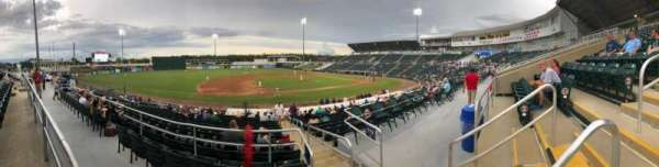 Hammond Stadium at CenturyLink Sports Complex, section: 216, rangée: 1, siège: 3