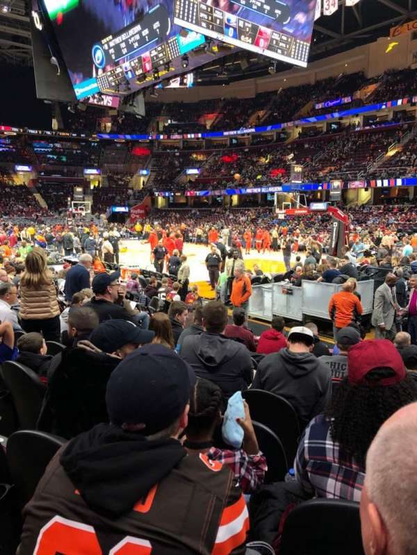 Quicken Loans Arena, section: 128, rangée: 9, siège: 15