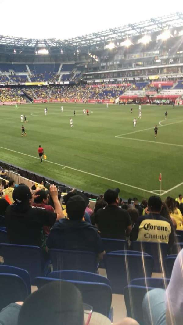 Red Bull Arena (New Jersey), section: 122, rangée: 7, siège: 12
