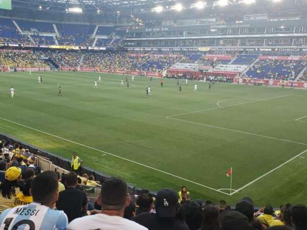 Red Bull Arena (New Jersey), section: 122, rangée: 7, siège: 11